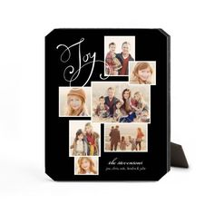 Many Joys Desktop Plaque, Ticket, 8 x 10 inches, DynamicColor