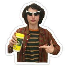 Finn Wolfhard the meme Sticker