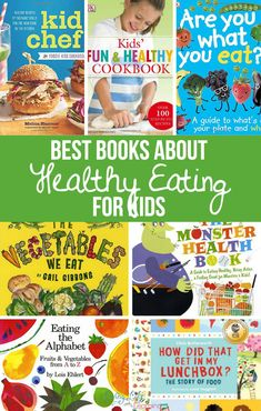 The Best Books About Healthy Eating For Kids. These books can help motivate you … The Best Books About Healthy Eating For Kids. These books can help motivate you and your kids to live healthy lives. Healthy habits are easier to create with children. Sport Nutrition, Kids Nutrition, Nutrition Tips, Health And Nutrition, Cheese Nutrition, Healthy Habits For Kids, Healthy Eating For Kids, Healthy Living, Healthy Eating Habits
