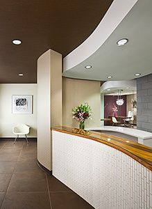 Attirant Dental Office Design Ideas Front Desk Width, Not So Much The Front Detail.  Need ADA Height Section Lowered