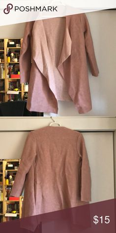 H&m Chocolate Brown Pink Hearts Fleece Full Zip Jacket 2-4 Years Outerwear