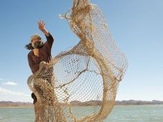 Image result for picture of Jesus telling Simon to cast out his net