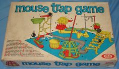 1970S Toys   Ideal Mouse Trap Game Box Lid - For Information & Display Only - Not ...