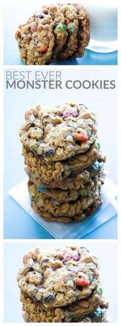 Best Ever Monster Cookies - A Dash of Sanity