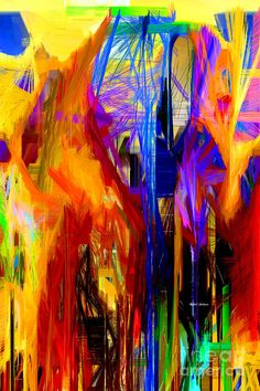 Abstract 9033 Digital Art by Rafael Salazar