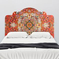 Vintage Rug |Adhesive Headboard Wall Decals | Walls Need Love