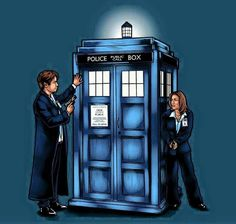 ''Mulder and Scully discover the T.A.R.D.I.S.'' (X-Files) (Doctor Who - BBC Series) source: Dirty WHOers