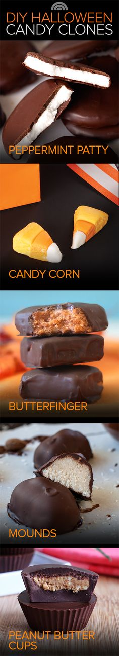 DIY Halloween candy: Whip up Reese's look-alikes and more sweet clones!
