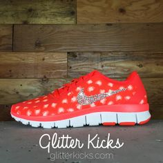 ... Women s Nike Free 5.0 V4 Print Running Shoes By Glitter Kicks -  Customized With Swarovski Crystal ... 7b280e72e8f2