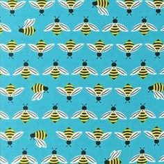 Laurie Wisbrun - Bright and Buzzy - Bees in Sky