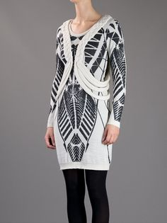Women - Clothing - Stine Ladefoged Jacquard Knitted Dress - Henrik Vibskov boutique - Online Store