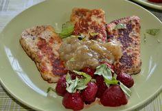 Huvilaelämää ja mökkiruokaa: Minttu-raparperihillo/-marmeladi