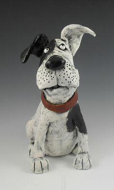 Listening Dog by Kathleen Kelly