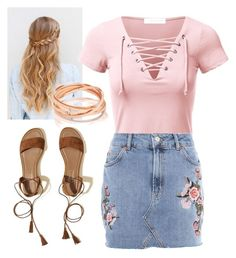 """""""F A S H I O N ✨"""" by lexiniccole on Polyvore featuring Topshop and Hollister Co."""