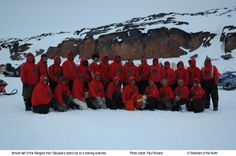 A group shot of The Canadian rangers from Watchers of the North's Episode 2: Search and Rescue
