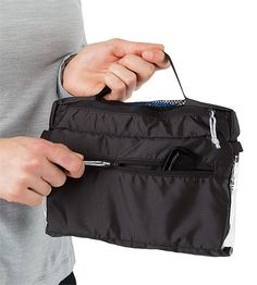 Index Dopp Kit Three compartment, compact travel bag for toiletries. A  clear paneled main b2d6803f1a