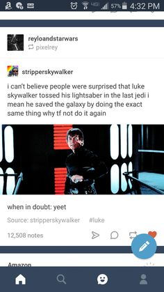 Luke always knows what he's doing.... except when he tried to kill Kylo. That was a little extreme.