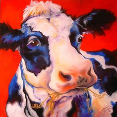 """Fun Cow"" par Marcia Baldwin"