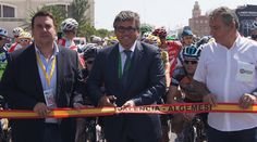 Inicio oficial de la IV Vuelta Ciclista a la provincia de Valencia