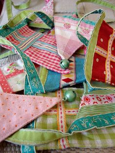 great colours inspired by bunting by maileg