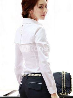 White Collared Shirt Option