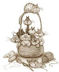 Basket of Cats