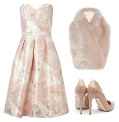 """Untitled #261"" by ipinkiee ❤ liked on Polyvore featuring Miss Selfridge, Coast and Rupert Sanderson"