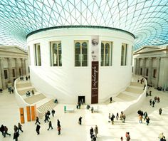 Europe's most-visited tourist attractions: British Museum - Fall '09