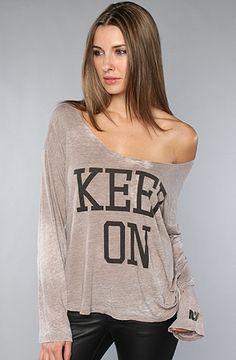 keep on...