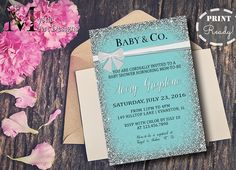 Baby Co Custom Baby Shower Invitations Themed baby showers
