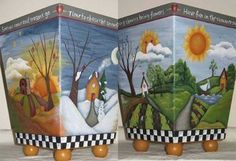 Four Season Waste Basket E-Packet - Beverly Maitland