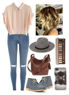 """Fall is Here"" by mrsalythiamalik on Polyvore featuring Coolway, River Island, Chicwish, Coach, Whistles, Urban Decay and With Love From CA"