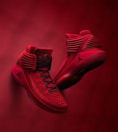ad3c6682430b89 AIR JORDAN XXXII Rosso Corsa Popular Sneakers