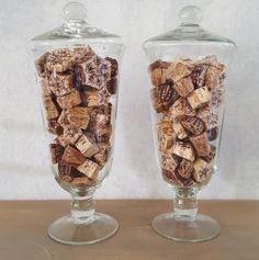 Mehogni slice kurk decoratie materiaal - 5252570023773 - Avantius