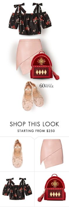 """""""Lace Ballerina"""" by interesting-times ❤ liked on Polyvore featuring Valentino, Michelle Mason and MCM"""