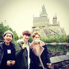 Onew, Minho, Key
