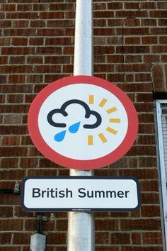 British Summer - looks about right! British Seaside, British Isles, Summer Fun, Summer Time, London Summer Olympics, Typical British, British Things, British Summer Humour, British Humour