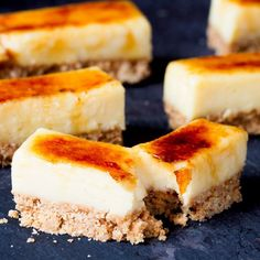 Excuse Me While I Stuff My Face with These Crème Brûlée Bars