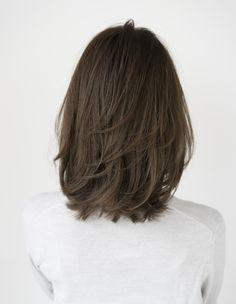 Layered Haircuts For Medium Hair, Haircuts Straight Hair, Medium Hair Cuts, Medium Hair Styles, Long Hair Styles, Shot Hair Styles, Shoulder Length Hair, Hair Looks, Hair Lengths