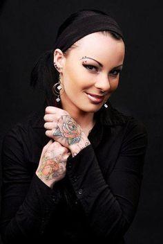 Tattoo Model - Mia Von M - http://worldtattoosgallery.com/tattoo-model-mia-von-m-4/