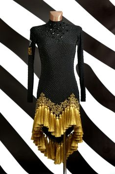 Ballroom Costumes, Ballroom Dance Dresses, Stylish Dresses, Nice Dresses, Fashion Dresses, African Fashion Ankara, Latin Dance Dresses, Tango, Embroidery Fashion