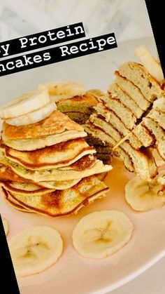 This recipe makes a beautiful, filling stack of protein pancakes that will totally satisfy any craving for a sweet breakfast.#Pancake #Recipe #Pancakes #Protein Pancake Recipe For One 41+ Easy Protein Pancakes Recipe   Pancake Recipe For One   2020 Easy Protein Pancakes, Pancakes Easy, Sweet Breakfast, Meals For One, 3 Ingredients, Cravings, Cake Recipes, Easy Meals, Low Carb