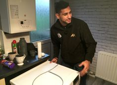 World boxing champion Amir Khan put aside his gloves to lend a helping hand to the flood-affected community in Carlisle.  Khan, 29, led volunteers from his foundation and the international humanitarian charity Penny Appeal to provide moral and practical support as he toured the Warwick Road area of the city which was badly hit by Storm Desmond last weekend. Better actions than that other ignorant swine of a boxer in the news at the moment
