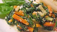 Mangold - Möhren - Gemüse, ein beliebtes Rezept aus der Kategorie Dünsten…