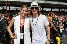 Tyler Hubbard Photos - Celebrities Attend Race - 2015 Indy 500 - Zimbio