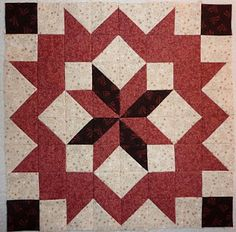 Kathy's Quilts: March 2010 #9 Mosaic Star