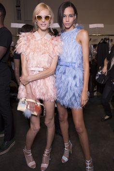 Fendi Spring 2015 RTW – Backstage – Vogue