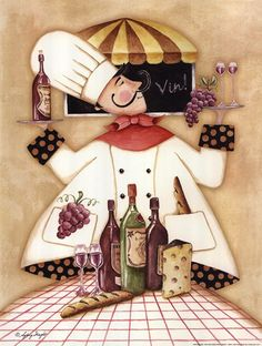 Sydney Wright - Vineyard Chef - art prints and posters