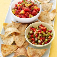 This fresh fruit salsa is perfect for summertime entertaining when lighter fare is called for. Super Spice cinnamon flavors both the salsa and the...