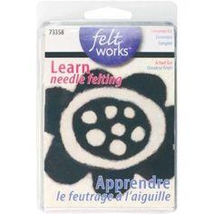 Learn Needle Felting Beginner Kit_73358